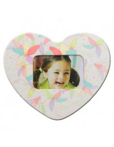 Magnet inima-flori insertie foto