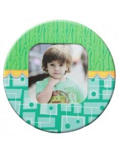 Magnet rotund-verde insertie foto