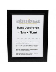 Rama foto Madrid negru 13x18