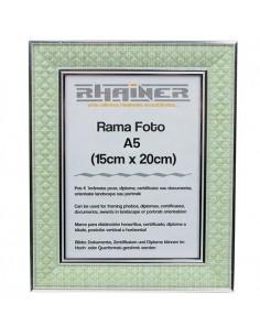 Rama foto Sevilla verde+argintiu A5
