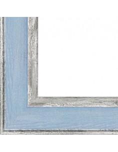 Rama foto Alicante albastru+argintiu A4