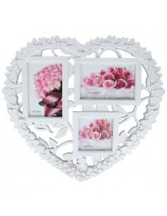 Rama foto plastic colaj Heart 3 poze