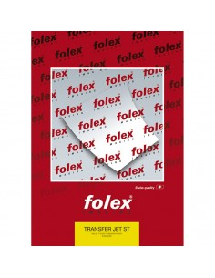 Folie transfer bumbac alb FOLEX A4 50 coli