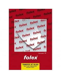 Folie transfer bumbac negru FOLEX A4 50 coli