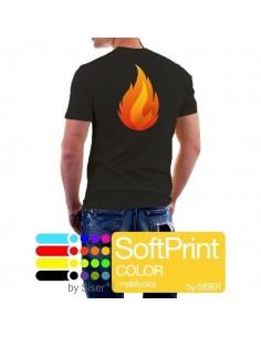 SoftPrint Color mat/lucios mp - folie alba imprimabila digital