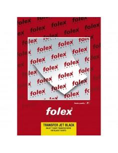 Folie transfer bumbac negru FOLEX A3 50 coli