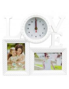 Rama foto ceas Love 2 poze