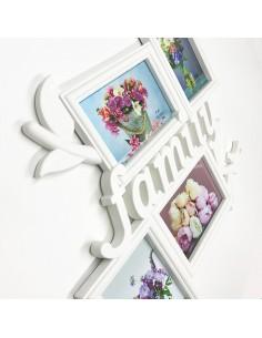 Rama foto plastic colaj Family 4 poze