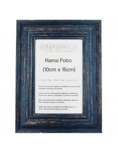Rama foto Bilbao albastru inchis 10x15
