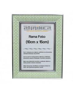 Rama foto Sevilla verde+argintiu 10x15