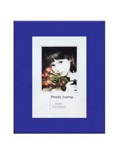 Rama foto sticla Cordoba albastru-indigo 10x15