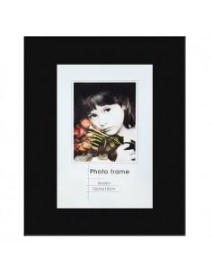 Rama foto sticla Cordoba negru 10x15