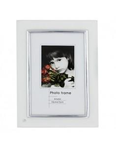 Rama foto sticla transparenta argintiu 10x15