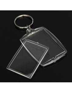 Breloc plastic insertie foto 4x5