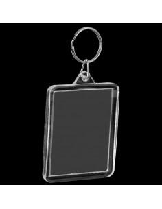Breloc plastic insertie foto 7x5 - set 50 buc