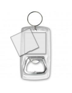 Breloc plastic insertie foto desfacator