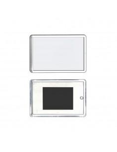 Magnet plastic insertie foto 8x5 - set 50 buc