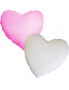Husa perna mata alb+roz deschis inima