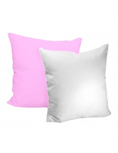 Husa perna mata alb+roz deschis 40x40