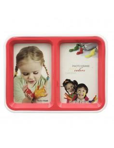 Rama foto FELIS rosu cu 2 fete