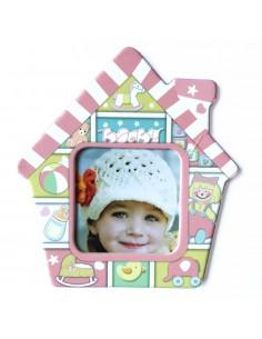 Magnet casa copil insertie foto