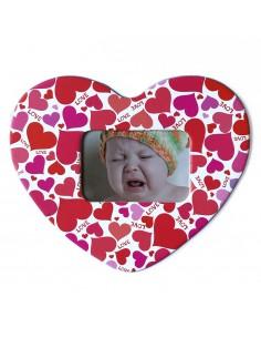 Magnet inima Love insertie foto