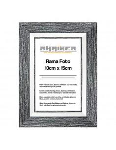 Rama foto Tenerife negru+alb 10x15