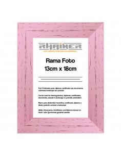 Rama foto Leon roz 13x18