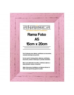 Rama foto Leon roz A5
