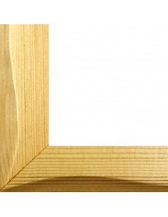 Rama foto lemn striat Vigo A4