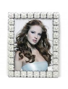 Rama foto alb Pearl 20x25