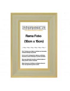 Rama foto Malaga crem+auriu 10x15