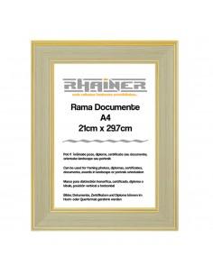 Rama foto Malaga crem+auriu A4