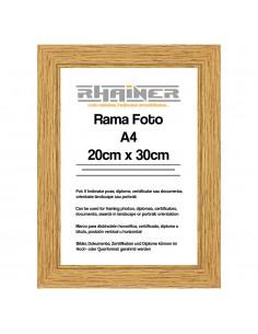 Rama foto Madrid A4 cafe
