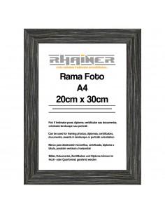 Rama foto Madrid A4 antracit