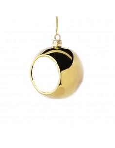 Glob sublimabil argintiu pentru brad Ø 4cm