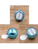 Glob sublimabil argintiu pentru brad Ø 6cm