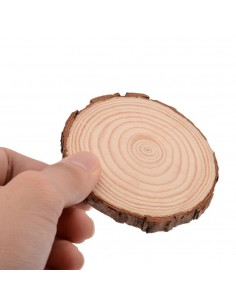 Felie de lemn Ø 6cm x 0.5 cm grosime