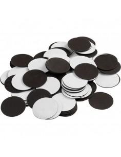 Buline magnetice 2,4 cm set 100 buc