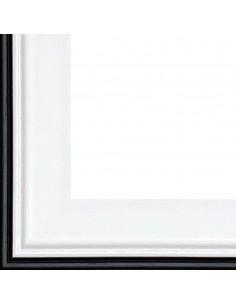 Rama foto Barcelona 10x15 negru+alb