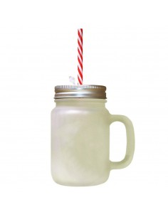 Cana limonada cu pai rosu sublimabila
