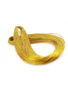 Set 100 snur auriu metalic pentru globuri