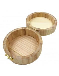 Cutiuta de lemn ROTUNDA