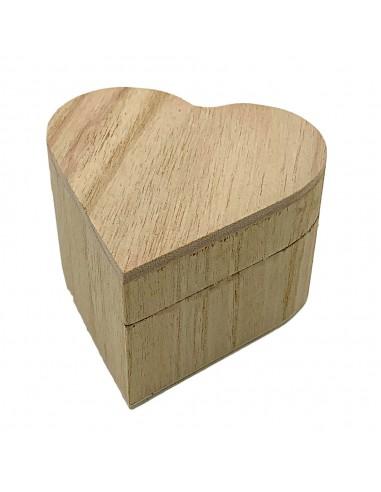 Cutiuta de lemn INIMA