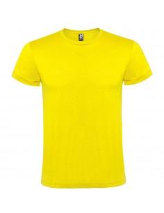 Tricou bumbac galben Roly ATOMIC 150