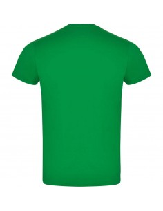 Tricou bumbac verde Roly ATOMIC 150