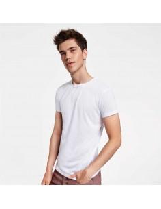 Tricou sublimabil alb Roly SUBLIMA Cotton Touch