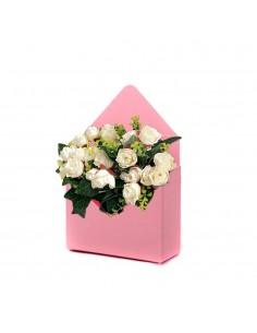 Cutie tip plic roz - set 12buc