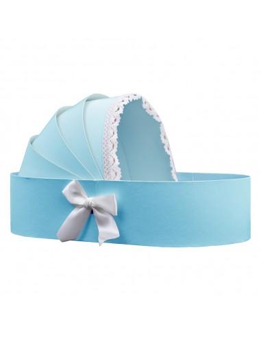 Cutie landou albastru
