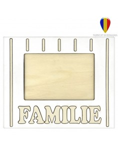 Rama foto lemn FAMILIE 10x15
